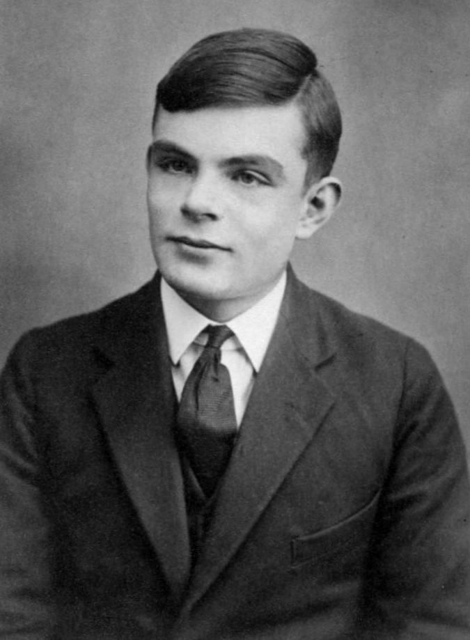 Alain Turing, un héros de guerre. Crédits photos : WikiData